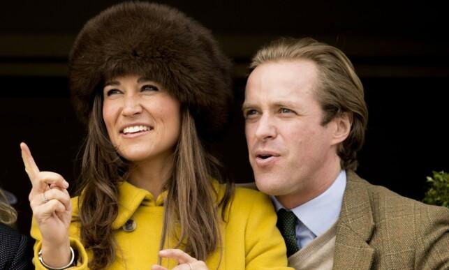 EKSER: Pippa Middleton og Thomas Kingston datet hverandre i 2011, men det skulle ikke vare. I dag er de gode venner. Her er de fotografrert i 2013, under Cheltenham-festivalen. Foto: NTB scanpix