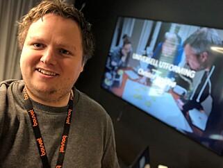 Christer jobber som utvikler i et Devops-miljø i Bouvet til vanlig. 📸: Privat