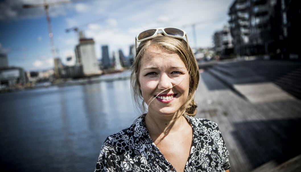 INGEN POPULIST: Une Bastholm fra Miljøpartiet de Grønne (MDG) forsvarer bompengene. De gir renere luft, bedre kollektivtransport og flere sykkelveier. Foto: Christian Roth Christensen / Dagbladet