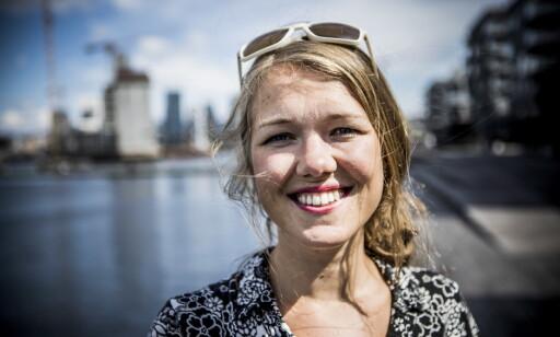 KASTER FOR MILLIARDER: Une Bastholm i Miljøpartiet De Grønne mener det er på tide å sette inn flere tiltak mot matsvinn. Foto: Christian Roth Christensen / Dagbladet