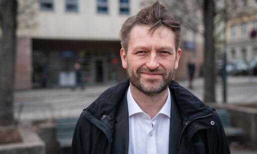 OPPRØRT: Eirik Lae Solberg er skuffet over byrådet, og mener hendelsen illustrerer at de ikke vil ha oppmerksomhet rundt saken. Foto: Øistein Norum Monsen