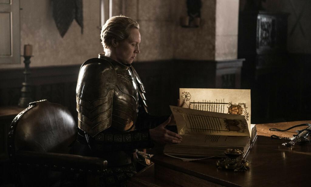 TIL TOPPS: Hun som trodde hun aldri kunne bli ridder, ble den fremste av alle. Foto: HBO NORDIC