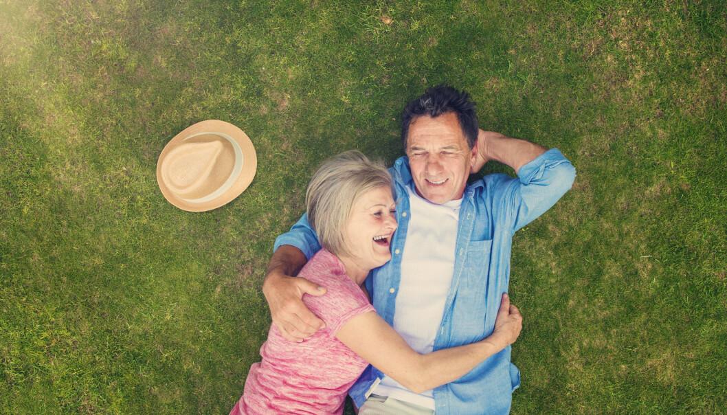 IKKE FOR SENT: -Mange finner den store kjærlighten sent i livet, sier psykolog Thompson til KK. Foto: NTB Scanpix