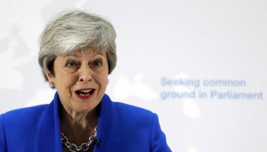 May gir Parlamentet en «siste sjanse» til å vedta brexit-plan