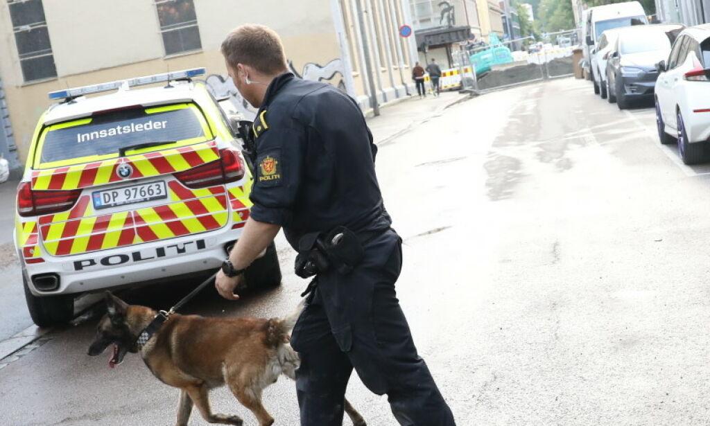 image: Væpnet aksjon etter knivhendelse på Grünerløkka