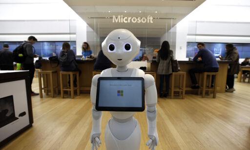 image: Kun en av fem offentlige virksomheter bruker kunstig intelligens