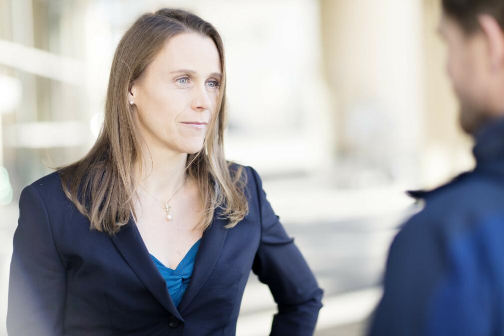 Tekna-president Lise Lyngsnes Randeberg synes våre tall viser at norske utviklere i snitt jobber greit med overtid, men at noen jobber altfor mye. 📸: Tekna