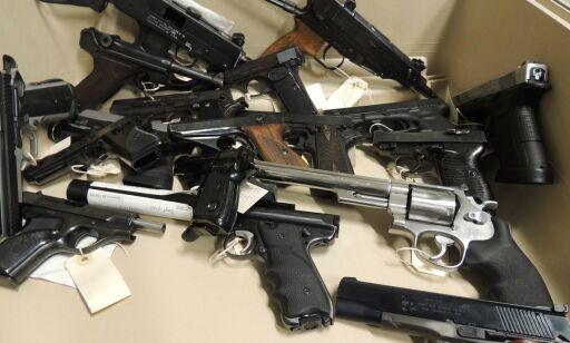 image: Har beslaglagt over 1800 ulovlige våpen