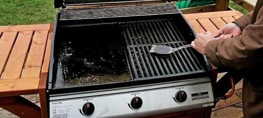 Derfor bør du brenne av grillen etter hver bruk
