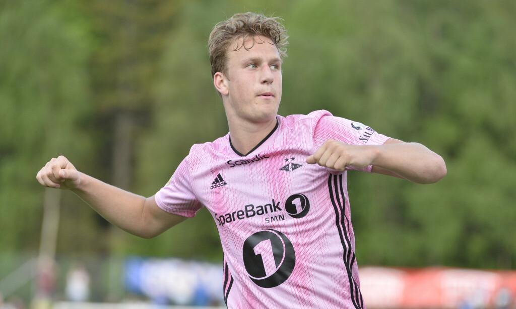 1-0: Erik Botheim sendte Rosenborg i ledelsen etter 57 minutter. Foto: Ned Alley / NTB scanpix