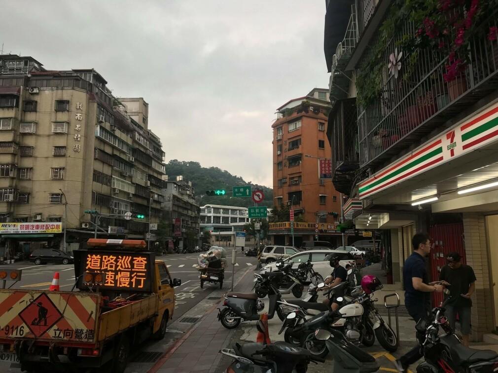 Slik ser det ut der Tobias Bergkvist bor i Taiwan. 📸: Privat