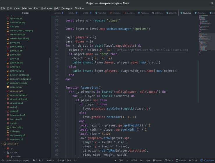 Slik ser desktopen til Tobias ut. 📸: Privat