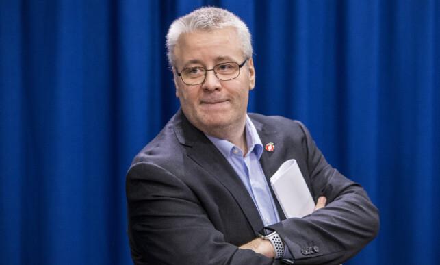 SLÅR TILBAKE: Bård Hoksrud, Frp-medlem i finanskomitéen på Stortinget, går til motangrep mot Senterpartiet og Sigbjørn Gjelsvik. Foto: Ole Berg-Rusten / NTB Scanpix