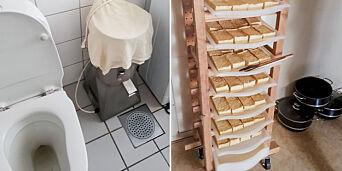image: Produksjon på do - kan ha havnet hos restauranter