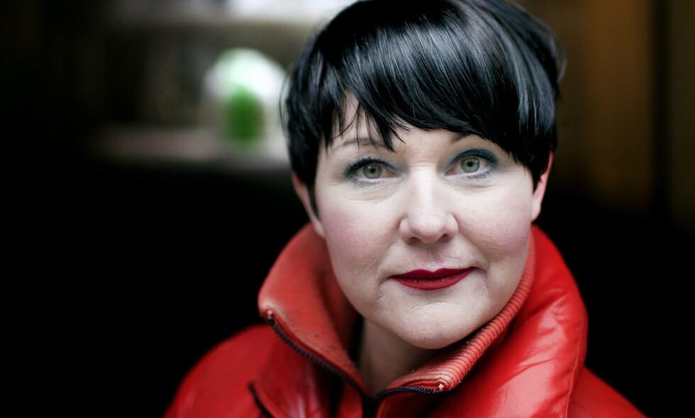 INNLAGT IGJEN: Den kreftsyke komikeren Christine Koht har igjen blitt innlagt på Radiumshospitalet. Denne gang med et virus, avslører podkastpartner Joachim Førsund. Foto: NTB Scanpix