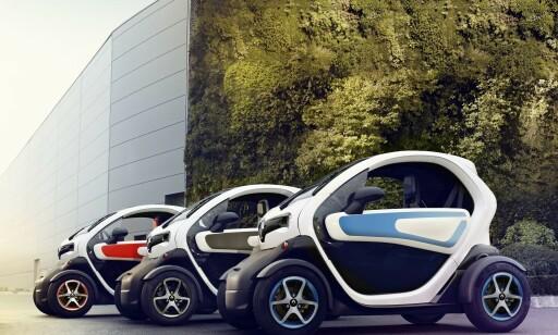 TWIZY: Elbil i miniformat. Foto: Renault