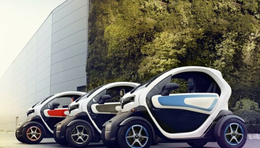 <strong>TWIZY:</strong> Elbil i miniformat. Foto: Renault