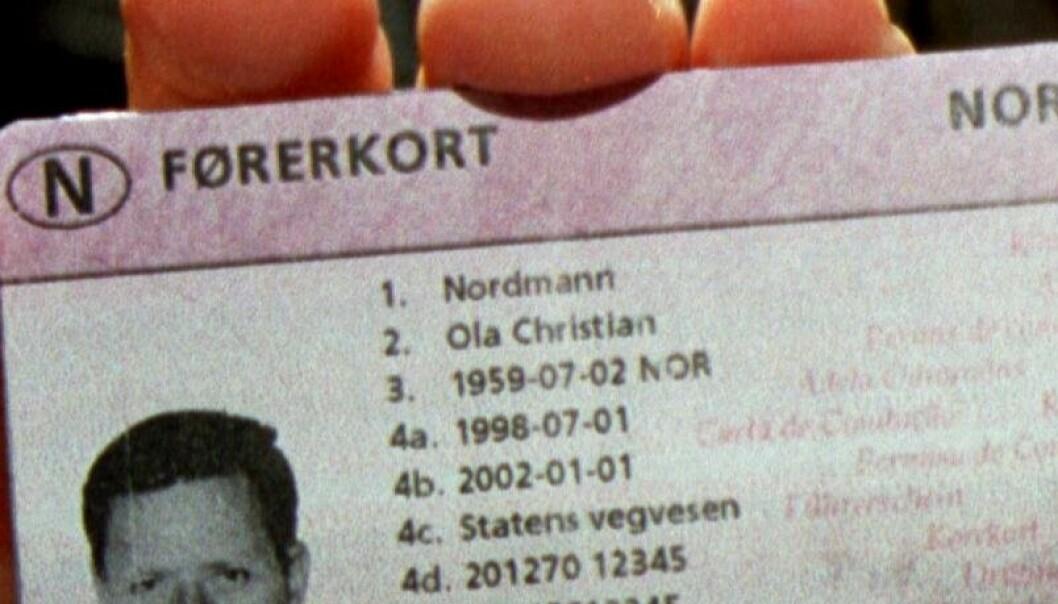 18 norske sjåfører blir nektet å kjøre på E6