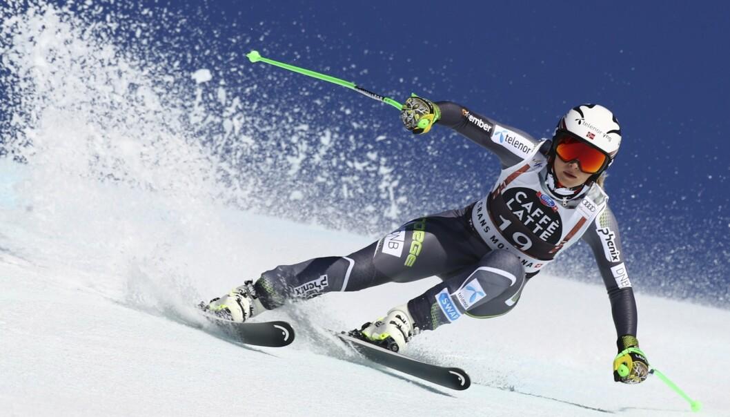 VURDERTE Å LEGGE OPP: Litt senere fikk hun sølvmedalje i årets vinter-OL. Foto: NTB Scanpix