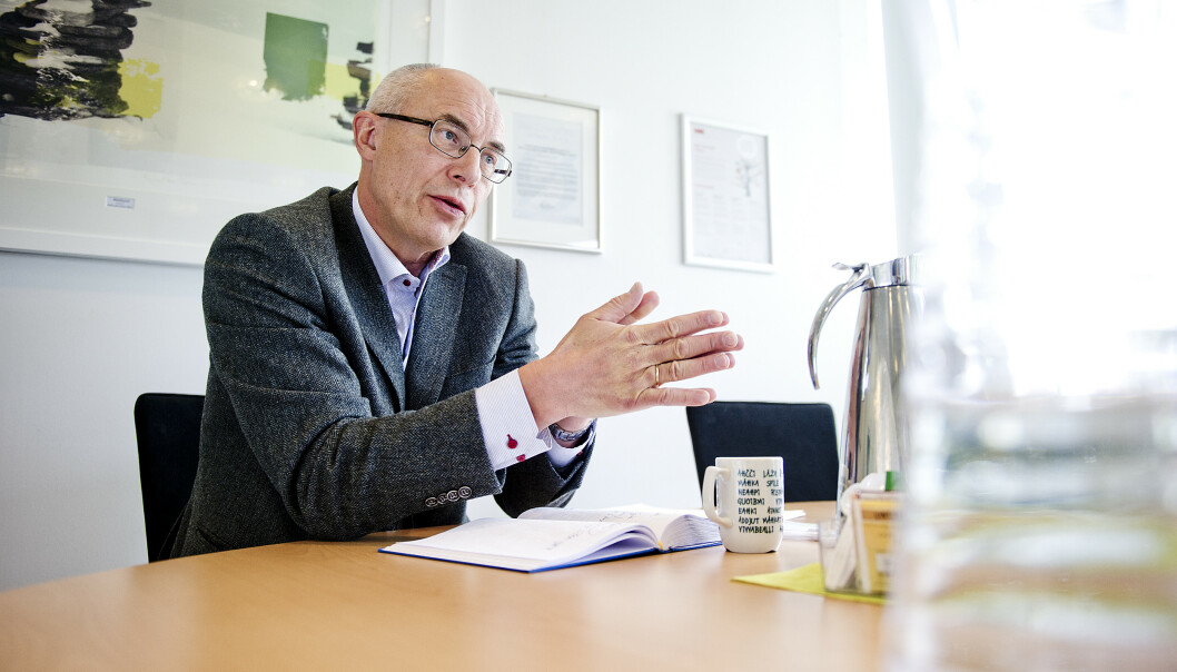DIREKTØR: Administrerende direktør i Mattilsynet, Harald Gjein. Foto: Jon Olav Nesvold / NTB Scanpix