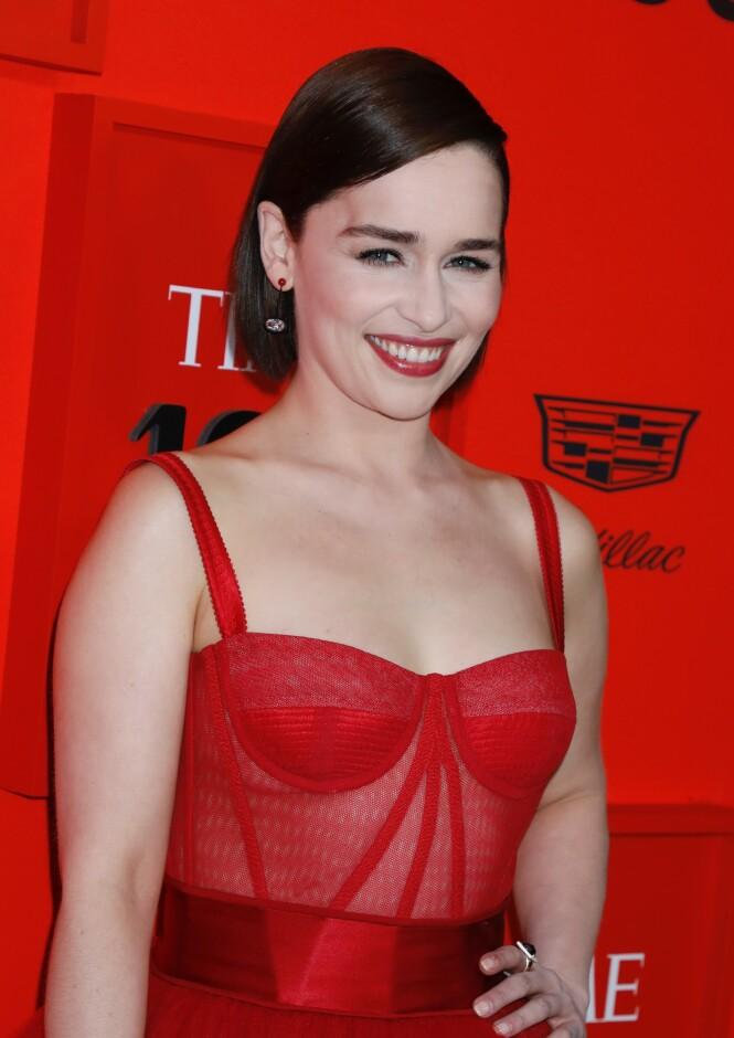 Emilia Clarke. Foto: Scanpix