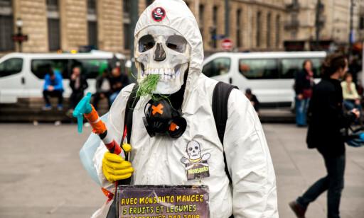 MYE MOTSTAND: Bildet er tatt under en demonstrasjon i Paris 18 mai. Foto: Scanpix
