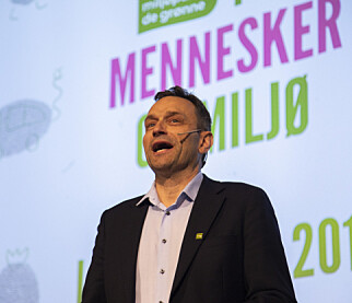 TALTE: Arild Hermstad Foto: Ola Vatn / NTB scanpix