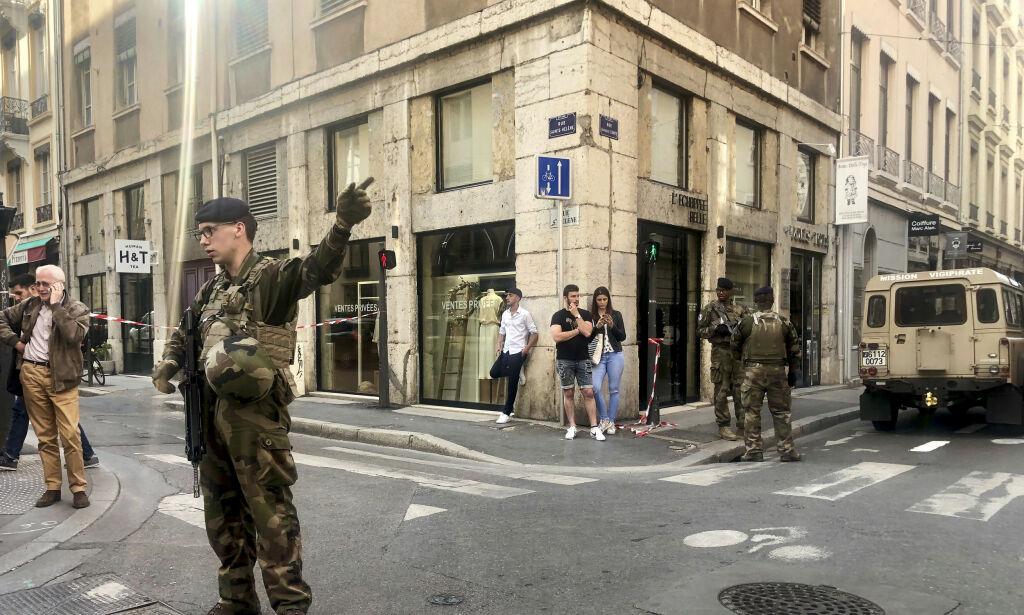 image: Eksplosjon i sentrum av Lyon etterforskes som terror