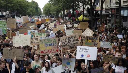 Hundretusener klimastreiker over hele verden: – Vi er ikke ute etter ros