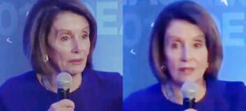 Facebook nekter å slette falsk Pelosi-video