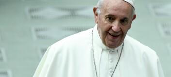 Paven sammenlikner abort med leiemord
