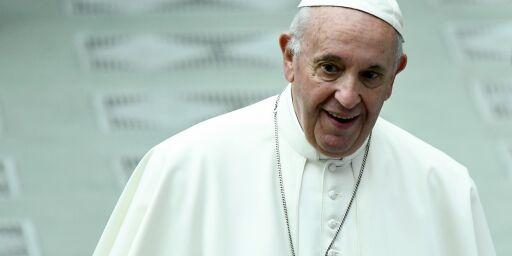 image: Paven sammenlikner abort med leiemord