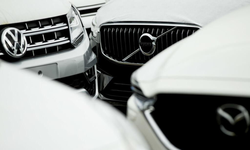 I FRONT: VW-importør, Møller Mobility Group, og Volvo er langt fremme i å ville tilby bilby bil som et abonnementsprodukt. Foto: NTB Scanpix