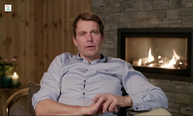 ÅPEN OM SORGEN: Erling Jevne forteller i TV 2-programmet at det å snakke åpent om tapet av sønnen har hjulpet han gjennom vanskelige tider. Foto: TV 2