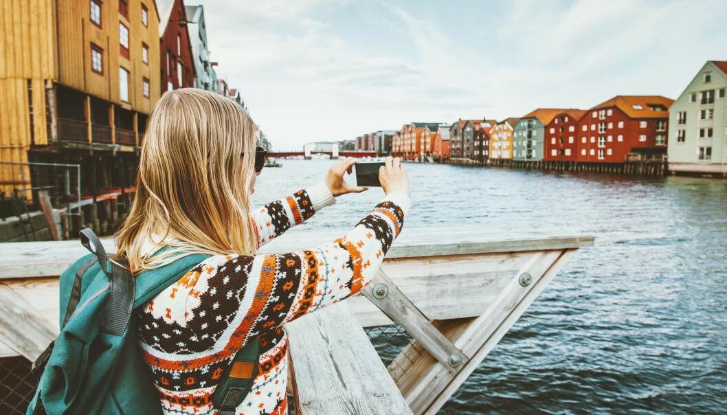 TRONDHEIM: CNN vektlegger matutvalget, og roser Trondheim for sin lokale mat og måten byen har blitt skrevet inn i historiebøkene på. FOTO: NTB Scanpix