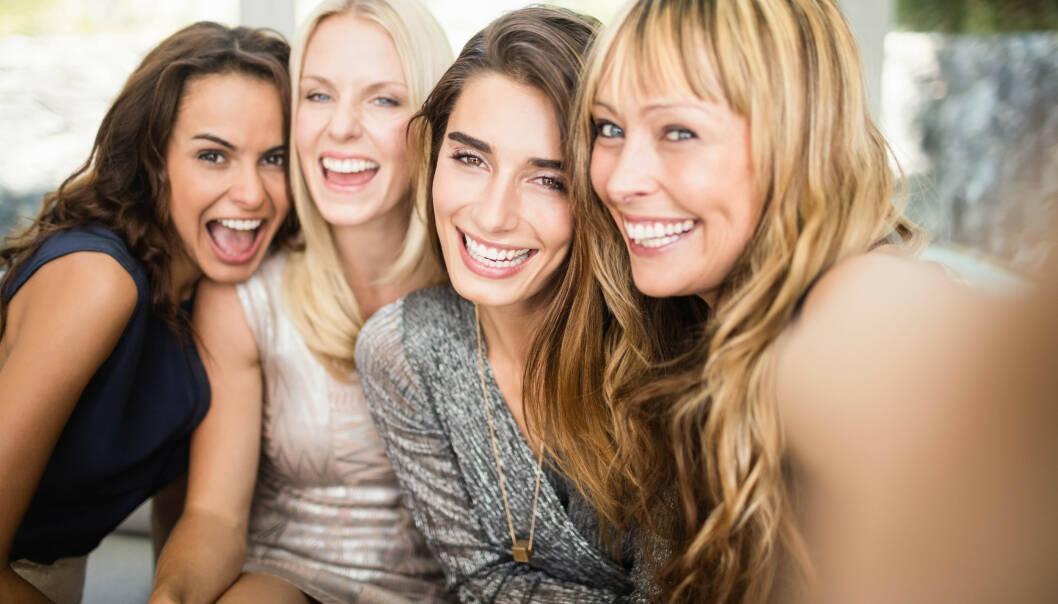 ANDESYNDROMET: Mange smiler og later som om alt er fint, selv om de er fulle av bekymring på innsiden. FOTO: NTB Scanpix
