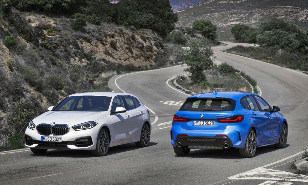HELT NY: Etter åtte år kommer endelig tredje generasjon BMW 1-serie. Foto: BMW