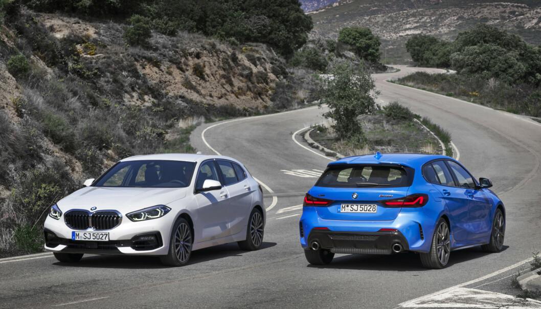 <strong>HELT NY:</strong> Etter åtte år kommer endelig tredje generasjon BMW 1-serie. Foto: BMW