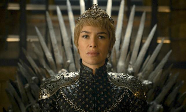 GODT BETALT: Lena Headey, her som Cersei Lannister, tjente godt på de 25 minuttene hun medvirket i sesong åtte. Foto: NTB Scanpix