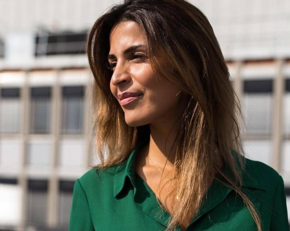 UTSATT FOR NETTHAT: Da Isabelle Davodi fortalte om hva hun hadde opplevd under flyktningkrisen i Hellas, ble hun utsatt for et massivt netthat som holdt på å knekke henne psykisk. FOTO: Privat