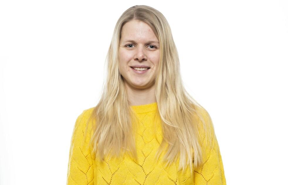 BLI NY: Catharina ble ny med KK! Foto: Astrid Waller