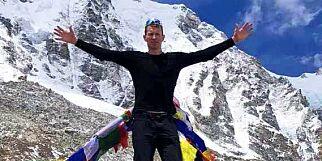image: Lar seg ikke skremme av dødsbildene: - Jeg skal nå Mount Everest