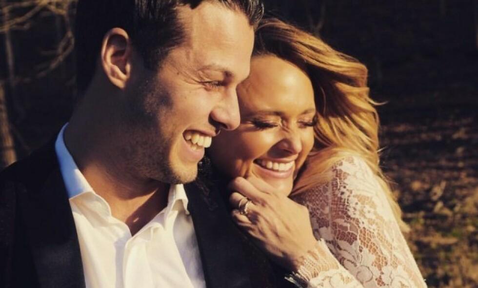 TRØBBEL: Ekteskapet mellom Miranda Lambert og Brendan McLoughlin skal henge i en tynn tråd. Foto: Skjermdump / Twitter