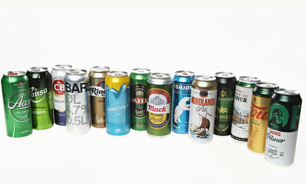 <strong>SOMMEREN ER I BOKS:</strong> Testvinner er en av Norges mest solgte. Hvilken øl er din favoritt?