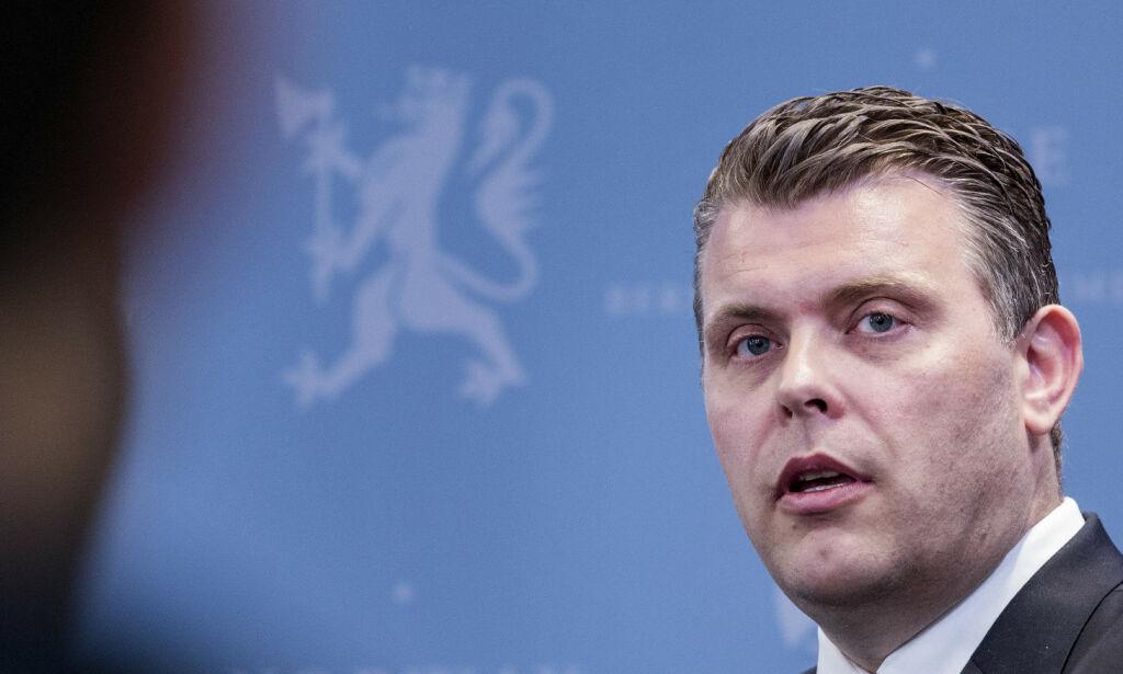 image: Aftenposten: Justisministerens au pair måtte forlate landet