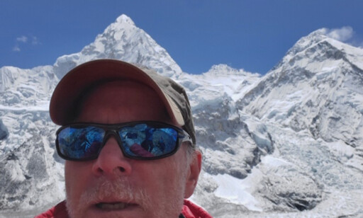 Christopher Kulish sin bror delte denne selfien av ham med media etter at han døde på Mount Everest.