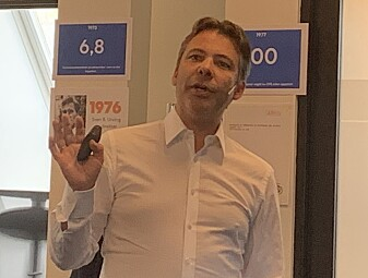 TRENGER ALLE TRE: Markedsdirektør for bærekraftig energiteknologi, Steffen Møller-Holst, sier både biogass, hydrogen og batterier vil trengs i fremtiden.