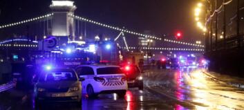 Sju døde og flere savnet etter båtulykke i Budapest