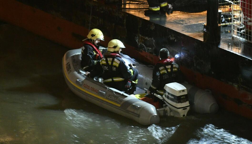 Nærmere 30 sørkoreanere kan ha omkommet da båt sank i Budapest