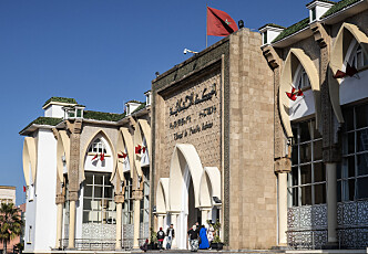 SPESIALDOMSTOL: I byen Salé, en kvarters kjøretur unna hovedstaden Rabat i Marokko, ligger domstolen der de 24 tiltalte skal møte opp i dag. Foto : Hans Arne Vedlog / Dagbladet